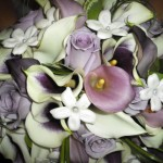 &quot;Shades of Purple&quot; bouquet featuring the Picasso Calla Lily