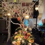 Romantic tree centerpiece.