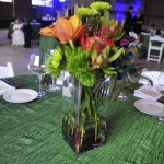 Fun and creative centerpiece. Photo courtesy of Michelle Gullett.