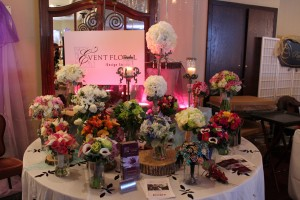 A wide array of bouquet colors and textures.